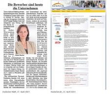 Presse: Vortrag Karin Bacher