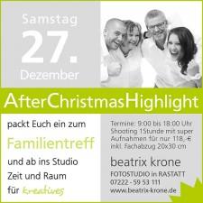 Beatrix Krone – Christmas-Aktion