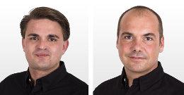 Chris Wägerle und Felix Regelmann