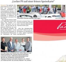 Artikel im Wochenblatt Karlsruhe (17. Mai 2017)