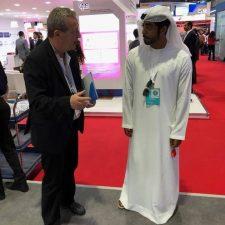 Gerhard Kessler auf der Arab Health in Dubai. Foto: pm